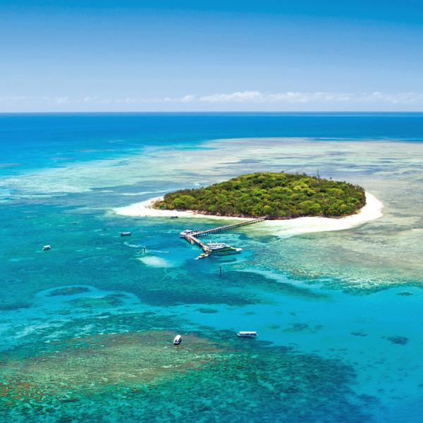 Australia - Queensland - Cairns - Barrera de Coral - Green Island - playa